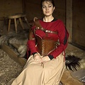 Epic Armoury Armadura de cuero para el hombro, marrón