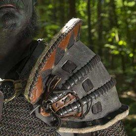 Epic Armoury Skóra Orc Pauldron Uzgush, czarny