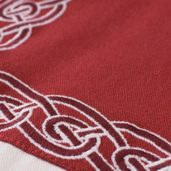 Viking tunika Viborg, naturlig-rød