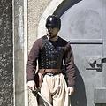 Epic Armoury LARP Brigandine, zwart