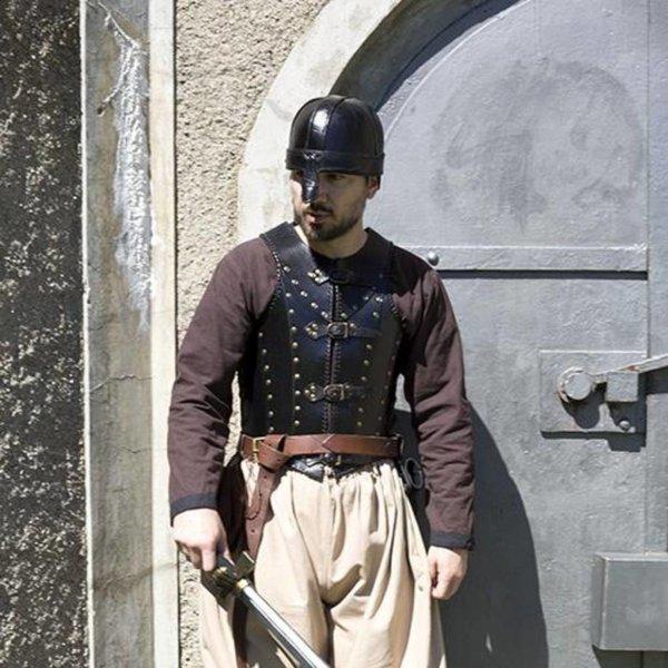 Epic Armoury LARP Brigandine, sort