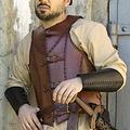 Epic Armoury LARP Leder Soldat Rüstung, braun