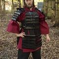 Epic Armoury Armadura de samurai de cuero, negro