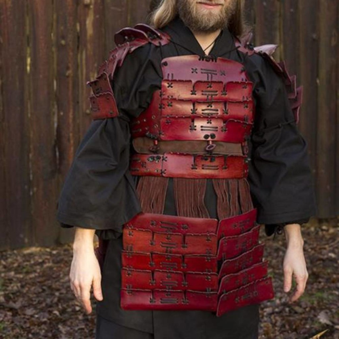 Epic Armoury Skóra Samurai Armor, czerwony