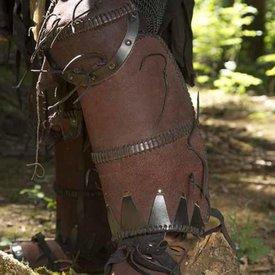 Epic Armoury Skóra Orc skwarki Uzgush, brązowy, para