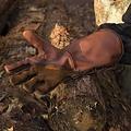 Epic Armoury Leren middeleeuwse handschoenen, bruin
