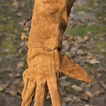 Epic Armoury Leren vechthandschoenen suede, bruin