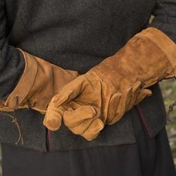 rękawice bojowe Skóra zamsz, brązowy