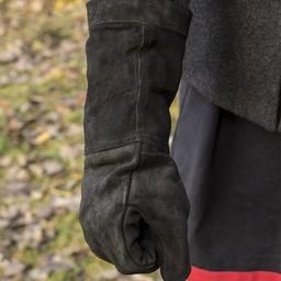rękawice bojowe Skóra zamsz, czarny