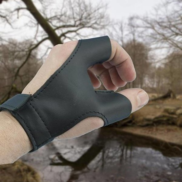 Epic Armoury Bow glove right handed archer, black