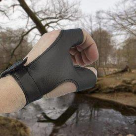 Epic Armoury Bow handske højrehåndede Archer, brun