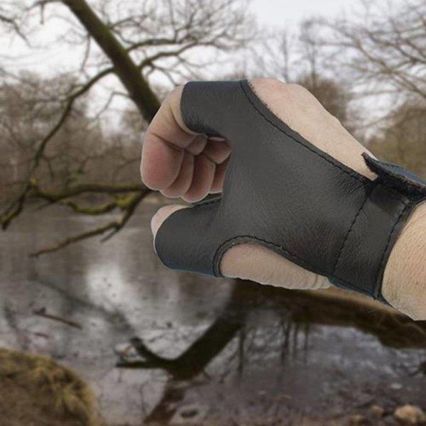 Epic Armoury Bow handske venstrehåndet Archer, brun