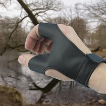 Epic Armoury Bow glove left handed archer, black
