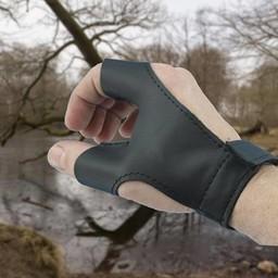 Bow glove left handed archer, black