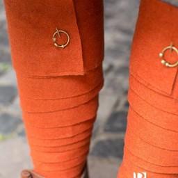 Leg wrappings Aki, orange