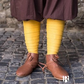 Burgschneider Los vendajes de la pierna Aki, amarillo