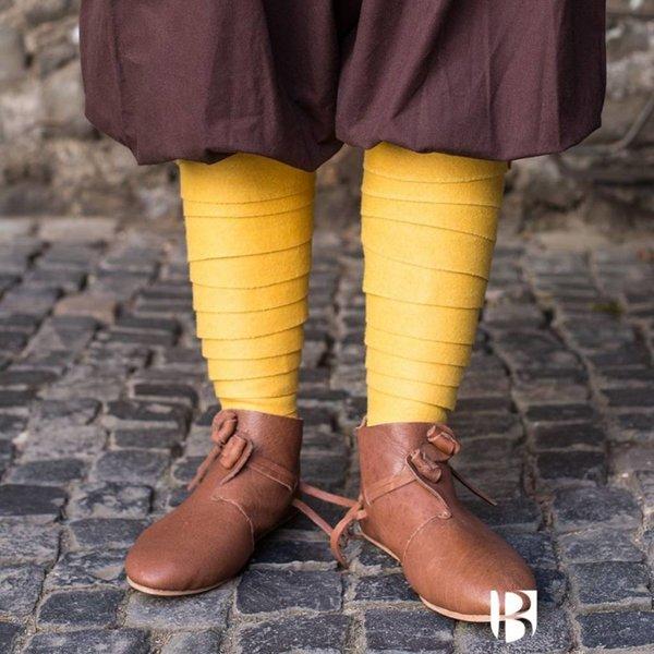 Burgschneider Leg envolvimentos Aki, amarelo
