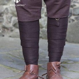 Burgschneider Los vendajes de la pierna Aki, marrón