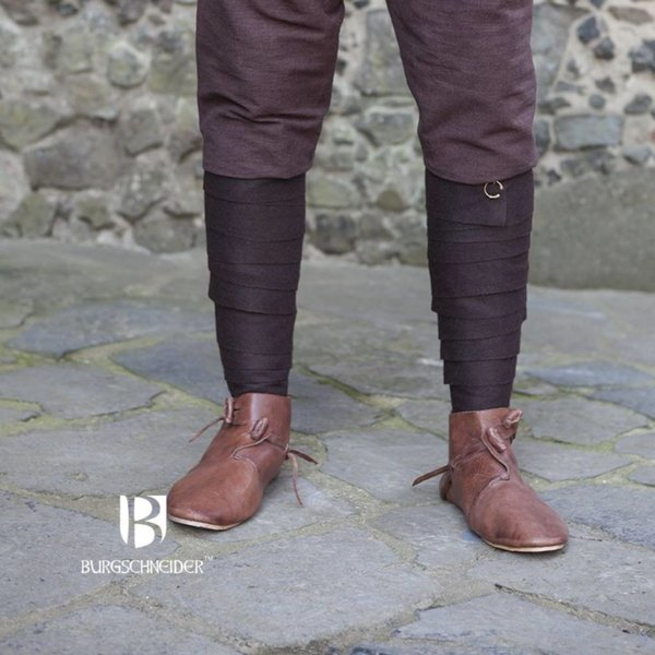 Burgschneider Aki perna invólucros, castanho