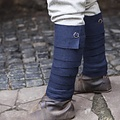 Burgschneider Los vendajes de la pierna Aki, azul