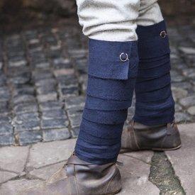 Burgschneider Leg Bandages Aki, bleu
