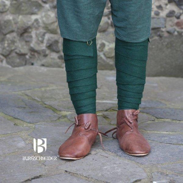 Burgschneider Leg wrappings Aki, green