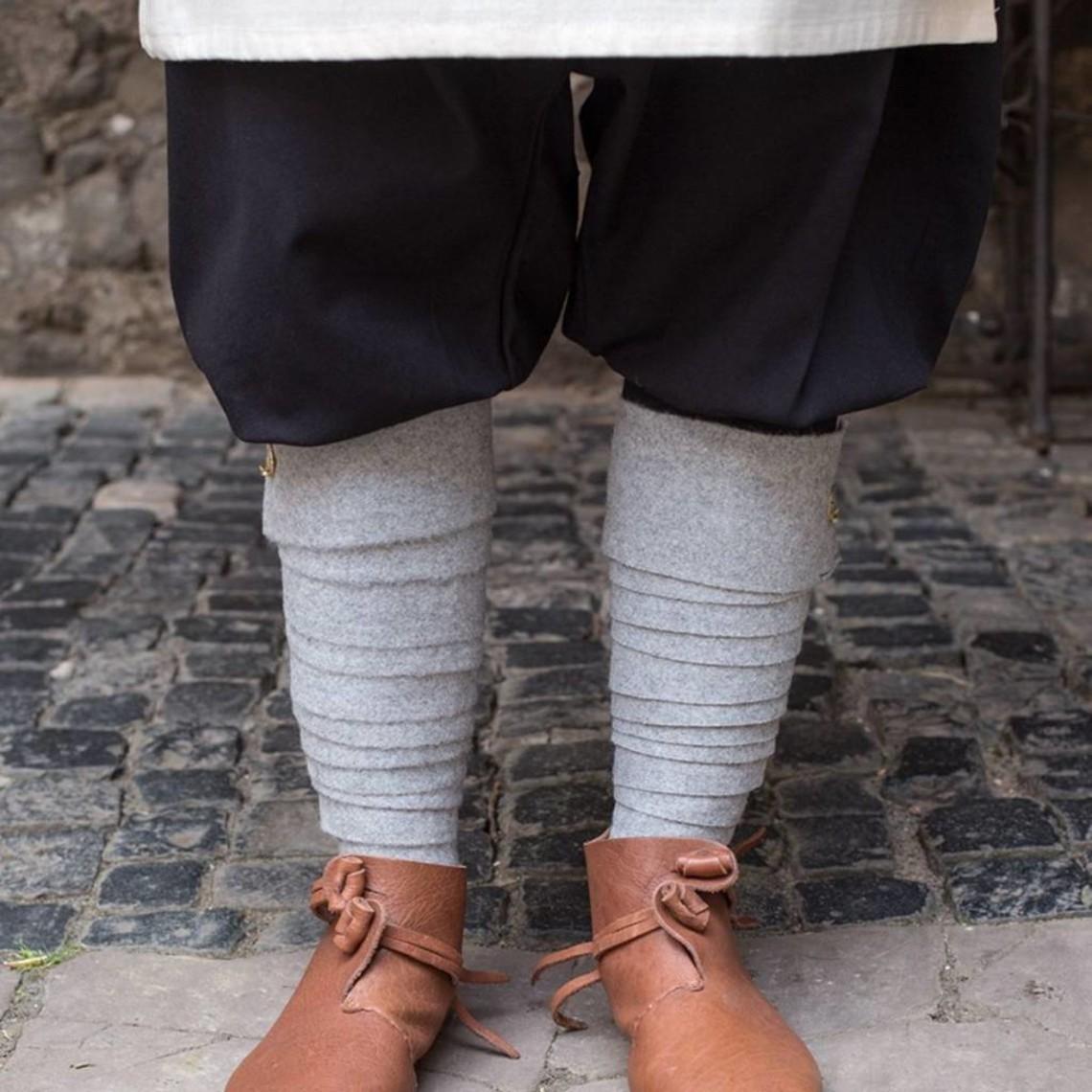 Burgschneider Los vendajes de la pierna Aki, Gray