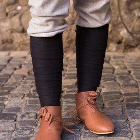 Burgschneider Los vendajes de la pierna Aki, negro