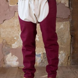 Burgschneider Chausses Bernulf lana, rosso