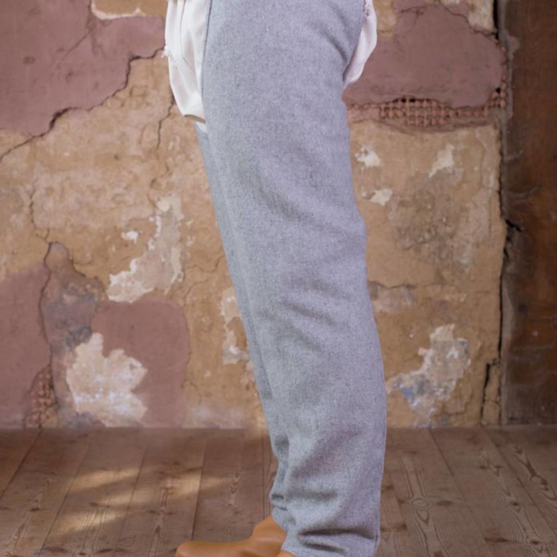 Burgschneider Beinlinge Bernulf Wolle, grau