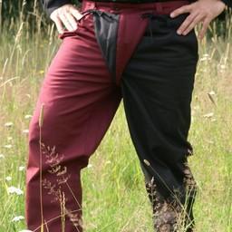 15th century Mi-parti trousers