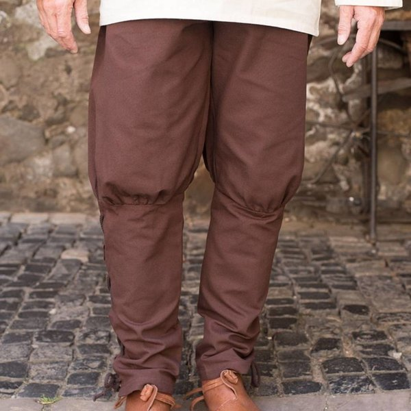Burgschneider pantalones Wigbold, marrón