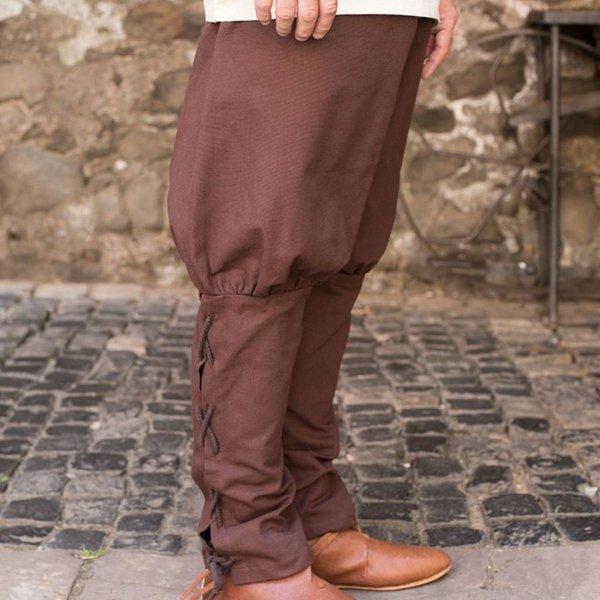 Burgschneider pants Wigbold, brun