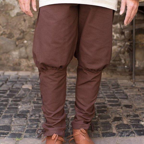 Burgschneider Spodnie Wigbold, brązowy