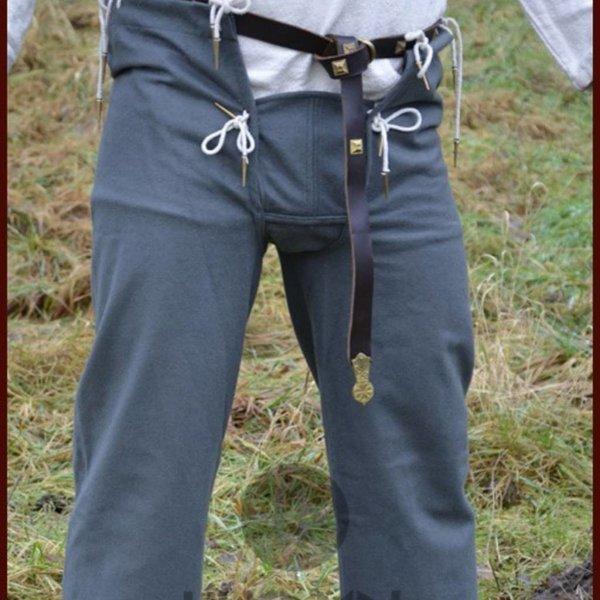 Ulfberth calças século 15, cinza
