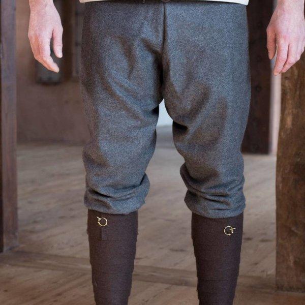 Grey By Burgschneider Medieval Thorsberghose Wool Trousers Viking //Larp