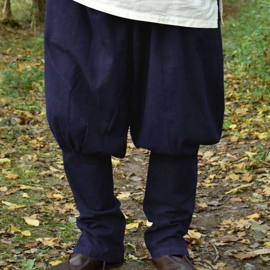 Pantalón vikingo floki, azul