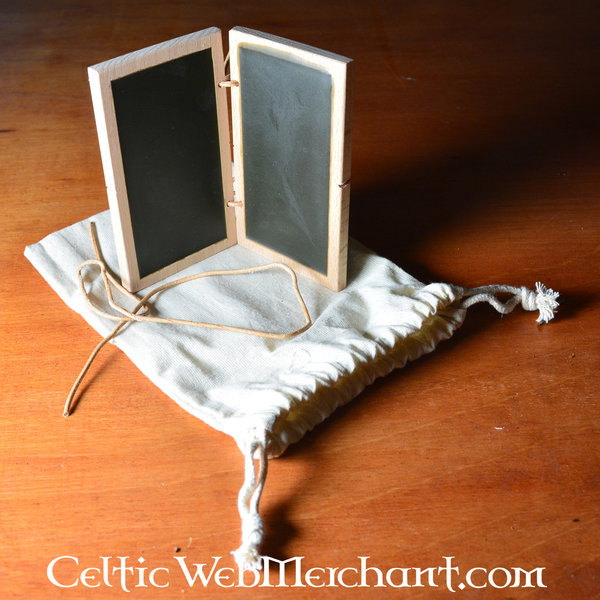 Double wax tablet 12 x 7 cm