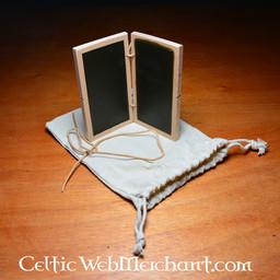 Double tablette de cire 12 x 7 cm