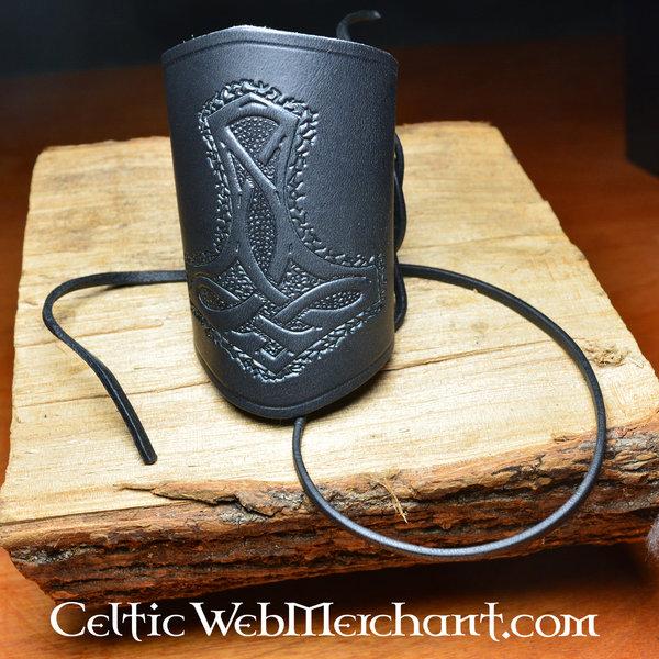 Par Viking håndledsbeskyttere (lang)