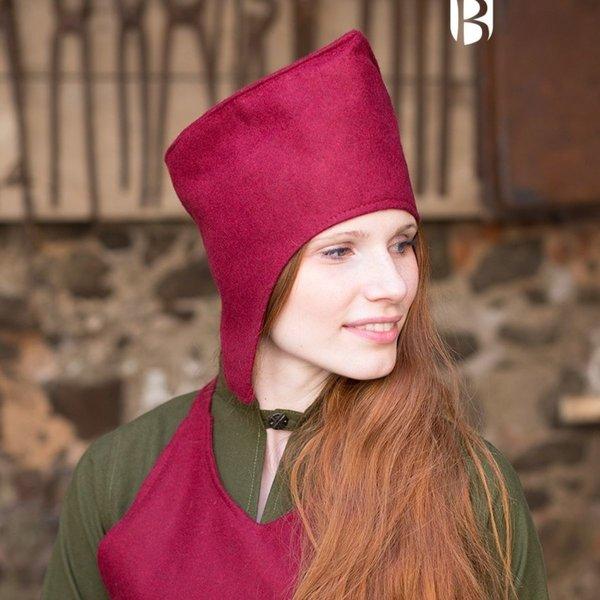 Burgschneider Magiërhoed Adis, wol, rood