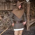 Burgschneider Chaperon Skjoldehamm, uld, efterår grøn