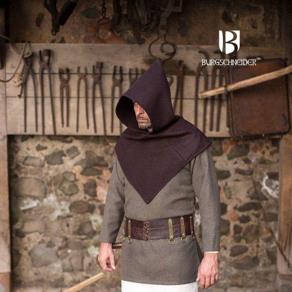 Burgschneider Kaproen Skjoldehamm, wol, bruin