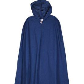 Bawełniany płaszcz Ellyn, niebieski
