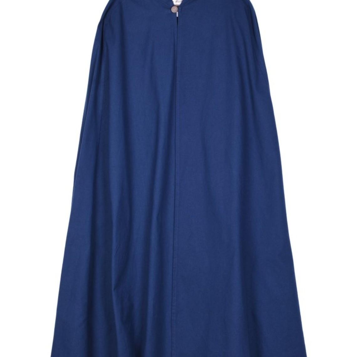 Cape en coton Ellyn, bleu