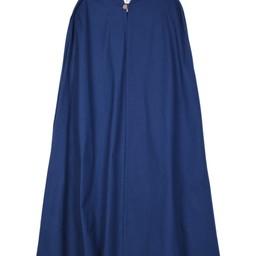 Cotton Mantel Ellyn, blau