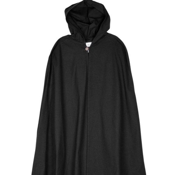 Cotton cloak Ellyn, black