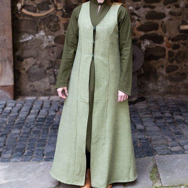 Burgschneider Sleeveless cloak Maiva, linden green