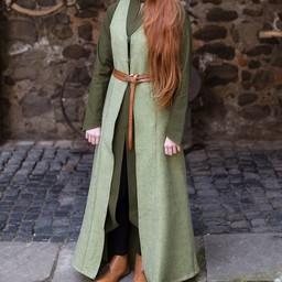 Sleeveless cloak Maiva, linden green