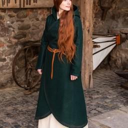wełniany płaszcz Enya, zielony